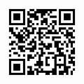 【津軽びいどろ】日本製・花器(奥入瀬)f-79825のQRコード