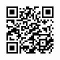 【津軽びいどろ】日本製・花器(霧月)f-79826のQRコード