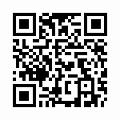 【津軽びいどろ】日本製・手付きバスケット・花器・f-79835のQRコード