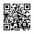 【津軽びいどろ】日本製・水盤型花器・f-79985のQRコード