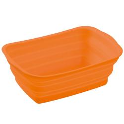 シリコン製洗い桶オレンジ