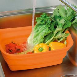 シリコン製洗い桶野菜