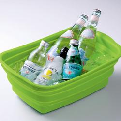 シリコン製洗い桶飲み物