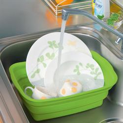 シリコン製洗い桶貯め洗い