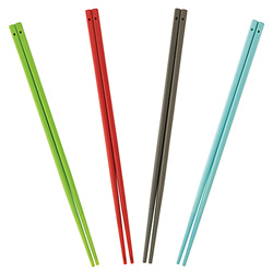 シリコン製 菜箸(レッド)は全4色