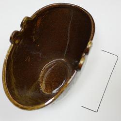 【日本製】蚊遣り(蚊取り線香入れ)茶のセット内容。