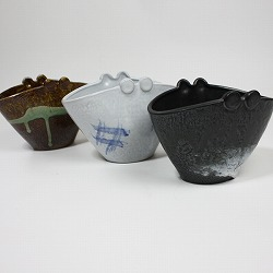 【日本製】蚊遣り(蚊取り線香入れ)黒は、3種類から選べます。