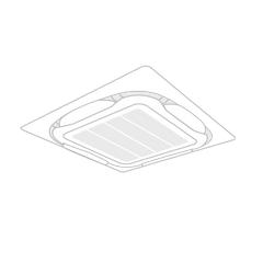 天井埋込カセット型 S・ラウンドフロー