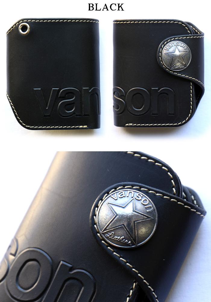 201f2e9dae20 ... VANSONバンソン二つ折りウォレット財布コンチョ栃木レザーvp-115-02 ...