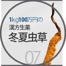 1kg100万円の漢方生薬冬虫夏草