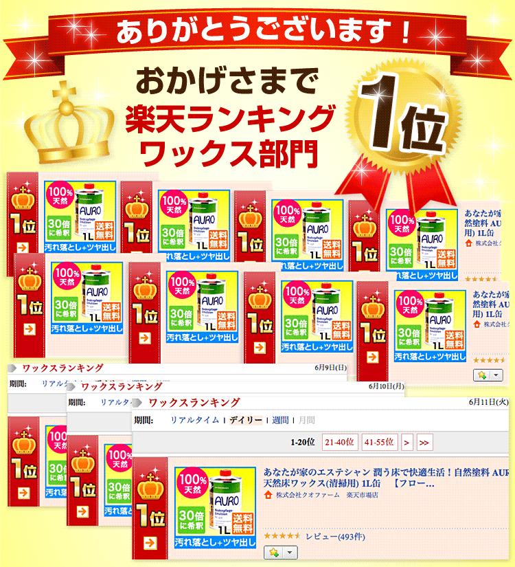 自然塗料 AURO(アウロ) No.431 楽天ランキング1位