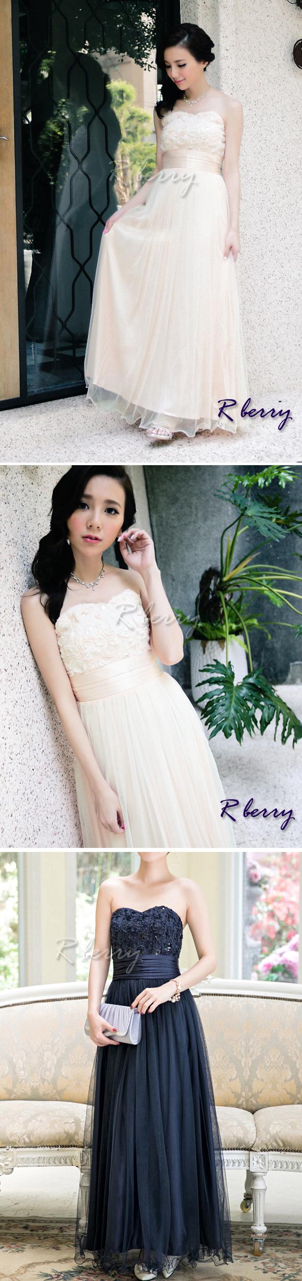 ブライズメイドドレス ロング ロングドレス 結婚式 二次会 花嫁