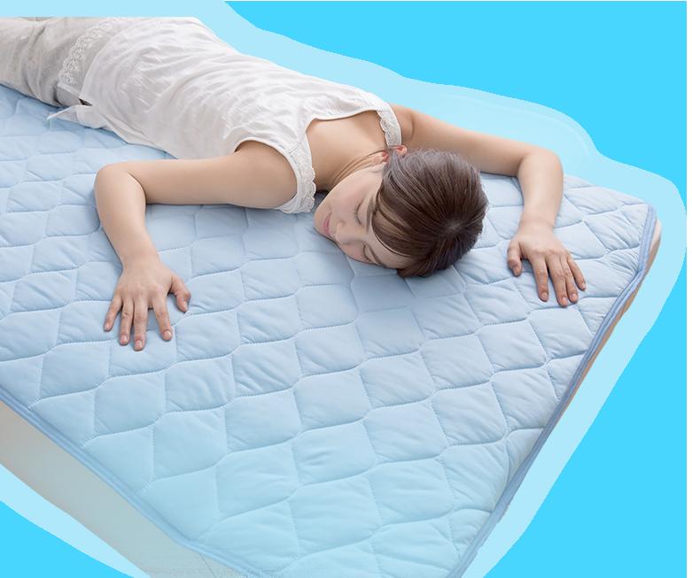 Q-max0.5 冷感敷きパッド