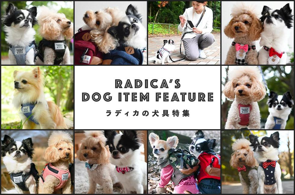 ラディカの犬具特集-RADICA'S DOG ITEM FEATURE