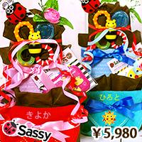sassy(サッシー)おもちゃ付き5000円商品