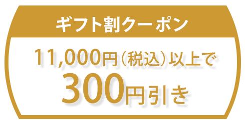 お買い物マラソン期間中で使えるお得なクーポン配布中【11,000円以上お買い上げで300円引きクーポン】配布先