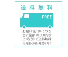 一ヶ所の送付先合計11000円以上(税込)で送料無料
