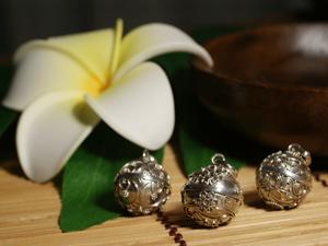 インドネシア バリ島 銀細工 シルバー925 ガムランボール