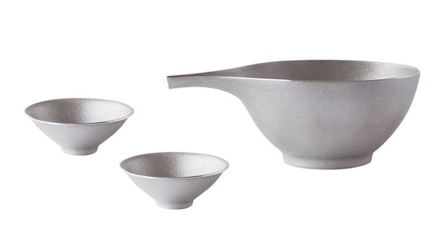 DUNE Picher&Sake Cup ×2 silver set