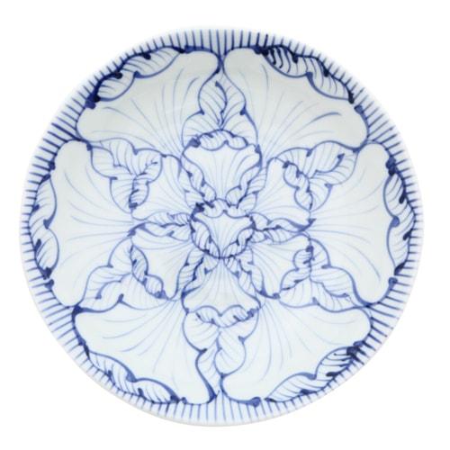 そうた窯 染付花弁紋 5.5寸深皿