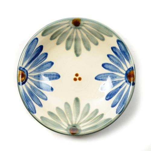 育陶園 皿7寸菊紋