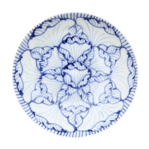 そうた窯 染付花弁紋3.5寸多用皿