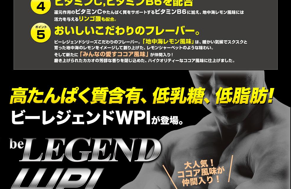 ビーレジェンドジョイント -be LEGEND WPI-