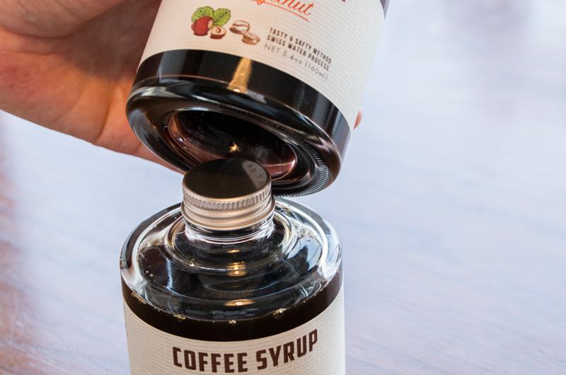 コーヒーシロップ