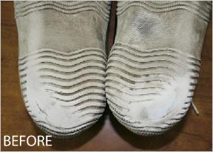 修理前と修理後の比較