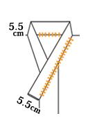 半衿の広衿とバチ衿の違いについて