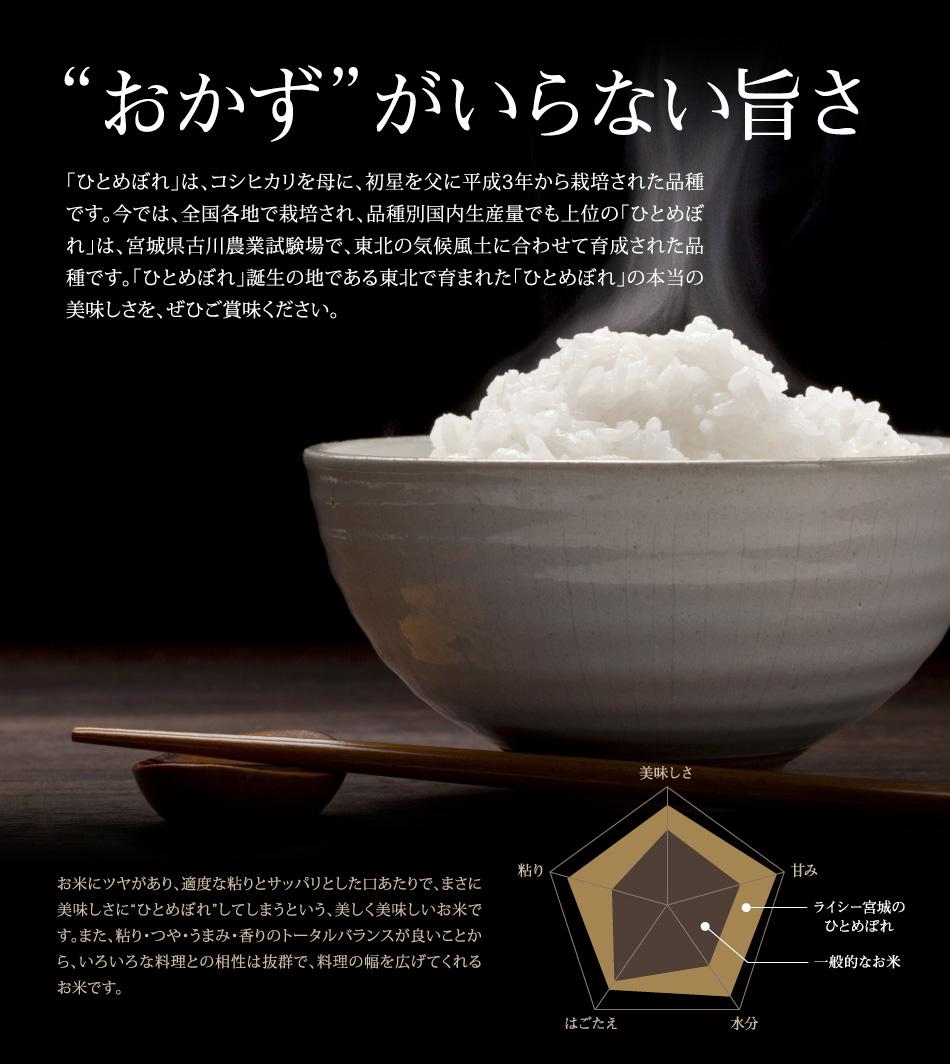 米,5kg,ひとめぼれ,岩手県産,送料無料,令和元年産,おかずがいらない旨さ