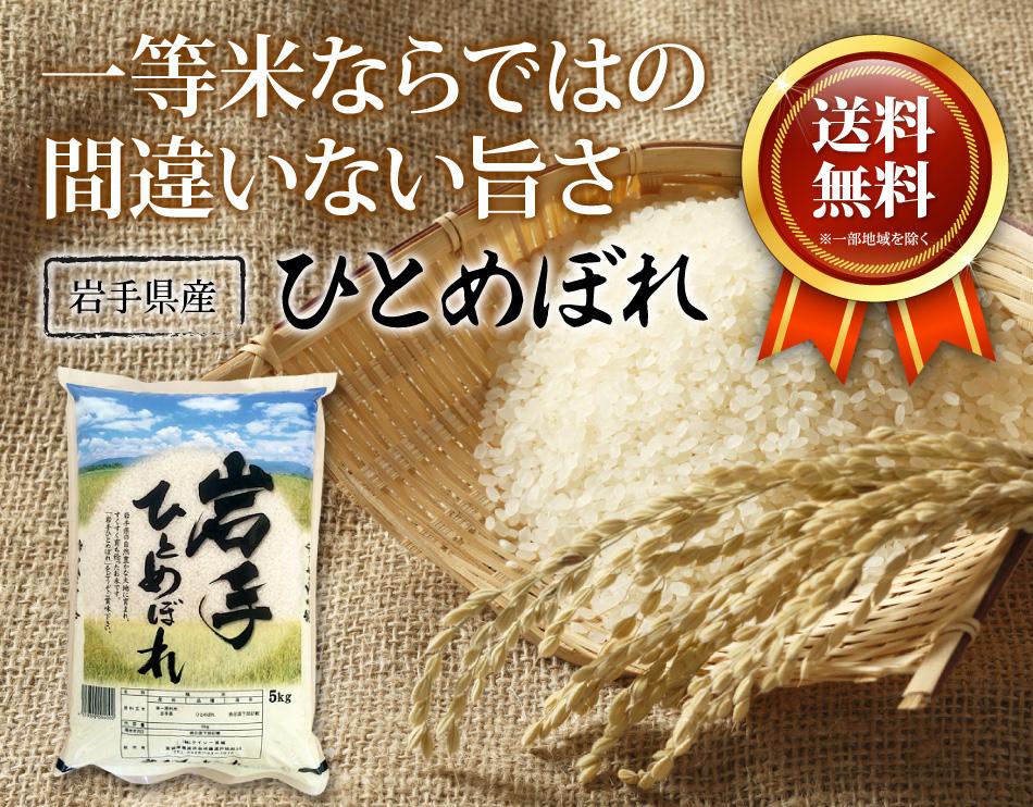 米,5kg,ひとめぼれ,岩手県産,送料無料,令和元年産
