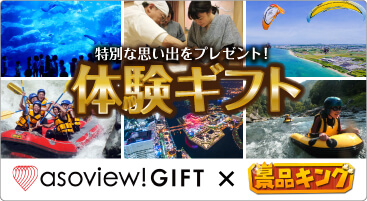 asoview!GIFT×景品キング 体験ギフト