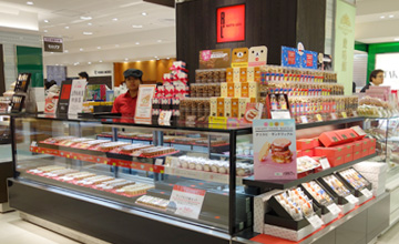 ワッフルケーキの店エール・エル 上野松坂屋店