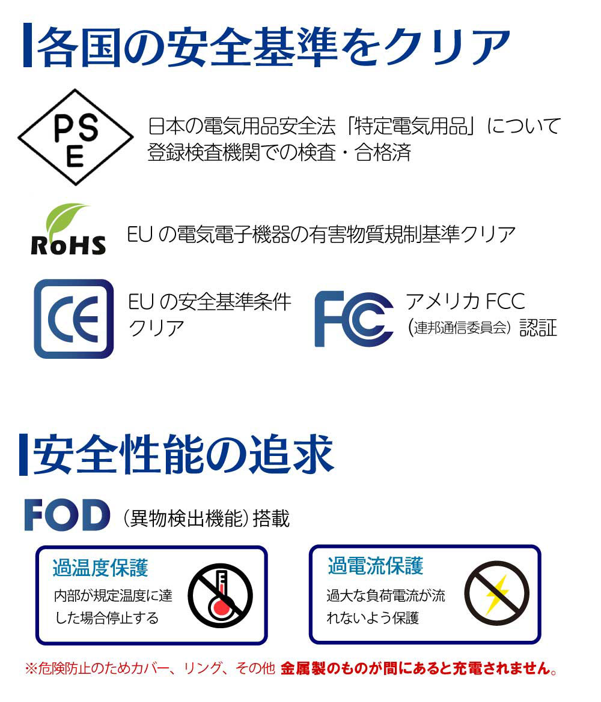 パルチェ 保温 保冷ドリンクホルダー ワイヤレス充電器 各国安全基準クリア