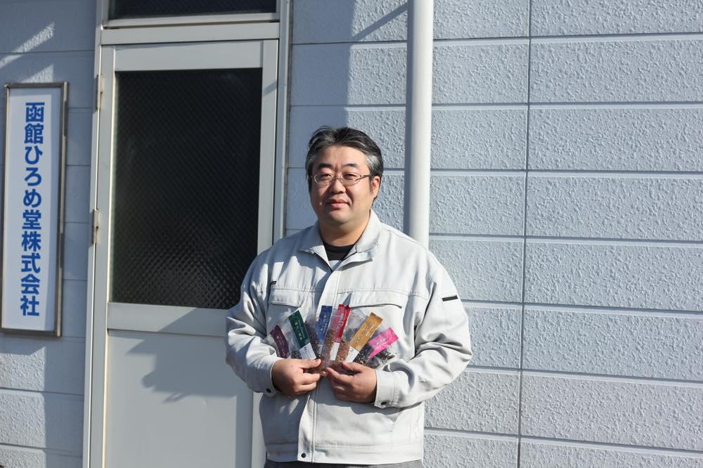 成田さんは安心できるふりかけづくりについて話してくれました。