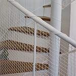 階段・手すり用の転落防止ネット