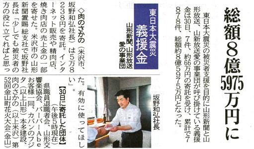 東日本大震災義援金