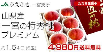 一宮の特秀桃  1.5キロ