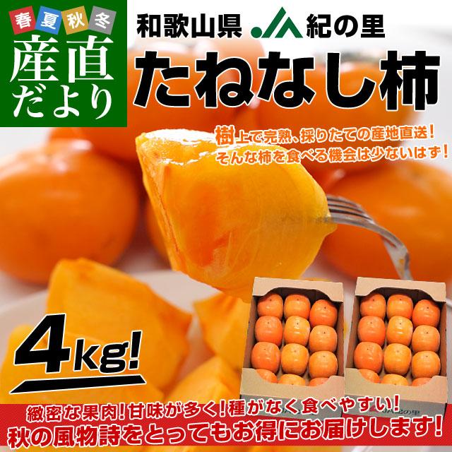 種なし柿2箱