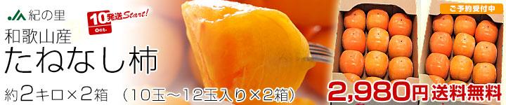 種なし柿 2箱