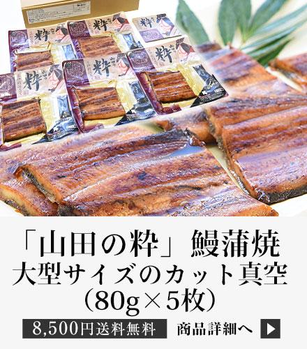 「山田の粋(やまだのいき)」(大型サイズのカット真空80g×5枚)
