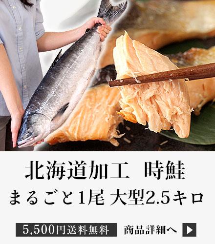 時鮭2.5キロ