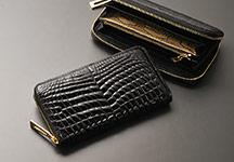 クロコダイルラウンド財布