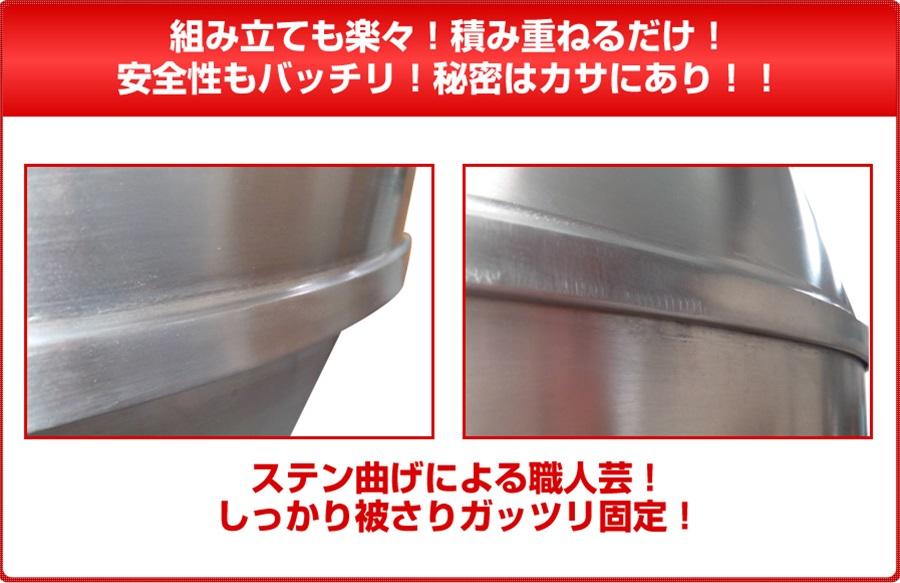 三省堂実業製 ステン2層式北京ダックチャーシュー釜