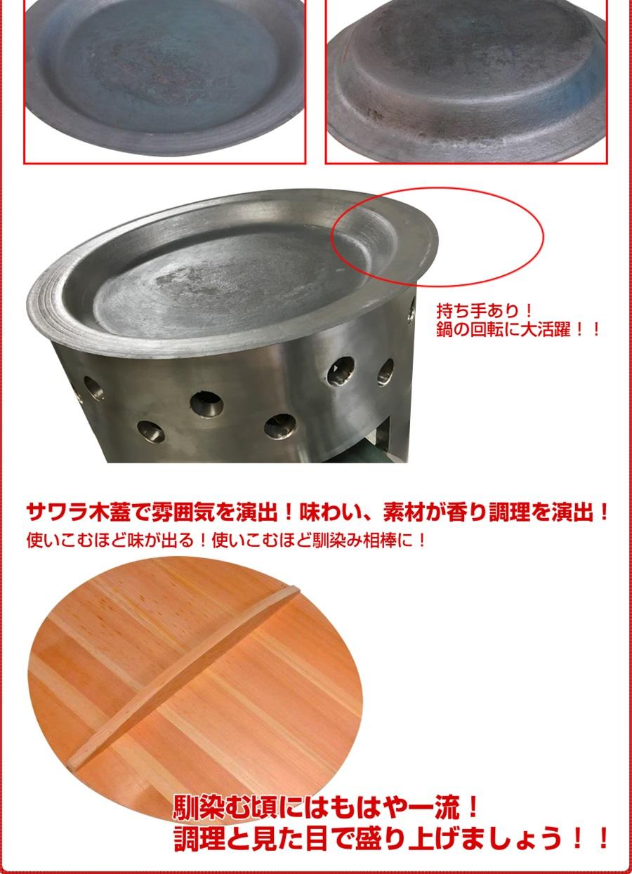 三省堂実業製 ガス焼き小籠包釜