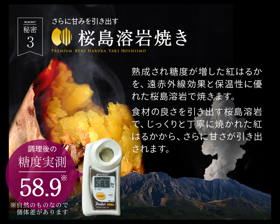 桜島溶岩焼き