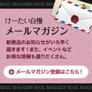 お得な情報盛りだくさんメールマガジン登録はこちら!