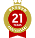 21years anniversary