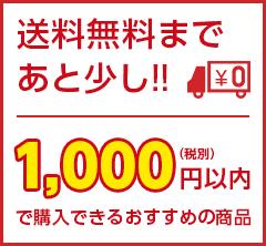 1000円以内で購入できるおすすめの商品